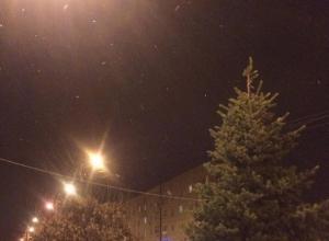 Сегодня в Волгодонске ожидаются осадки в виде снега