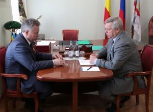 Волгодонцам надо дать возможность получать качественную медпомощь в новом отделении, - губернатор Василий Голубев