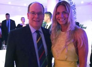 Юлия Ефимова триумфально выступила в Монако и получила награду из рук князя