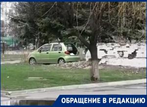 Рядом с заброшенным детским садом житель Волгодонска решил нажиться кирпичами