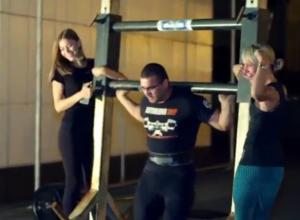 В Волгодонске провели первую фитнес-ночь с экстремальными нагрузками