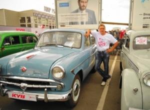 Волгодонец на своем ретро автомобиле поборется за один миллион рублей
