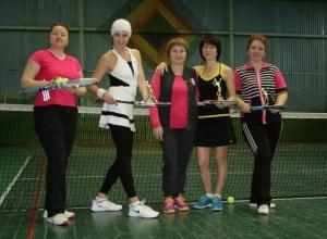 Любители тенниса встретились на рождественском турнире в Волгодонске