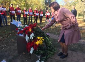 «Керчь, мы с тобой»: Акция памяти прошла в парке Победы