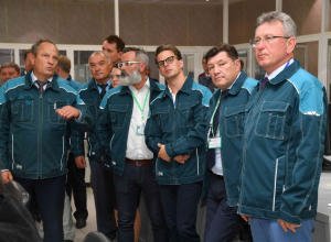 В рамках визита в Волгодонск делегации из Венгрии и Болгарии посетили АЭС
