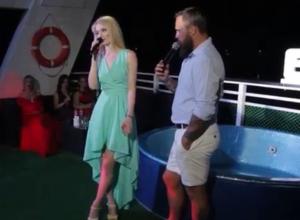 Валерия Левкова забыла слова песни во время выступления на конкурсе «Мисс Блокнот»