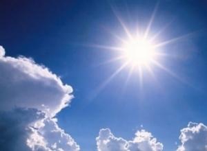 Теплой солнечной погодой порадует волгодонцев это воскресенье