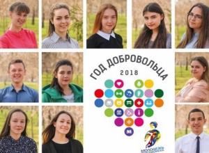 В Волгодонске появился баннер с фотографиями самых активных волонтеров города