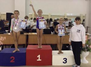 Гимнастка Софья Гузь из Волгодонска победила на Всероссийских соревнованиях