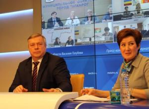 Василий Голубев призвал наказать виновных в скандале с поставками питания в сады и школы Волгодонска