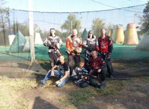 Волгодонские пейнтболисты вошли в тройку сильнейших команд ЮФО