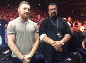 Известный боксер и депутат Дмитрий Кудряшов присутствовал на поединке  Александра Усика и Мурата Гассиева