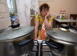 Волгодонск остался без горячей воды в холодную и дождливую неделю мая