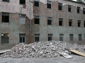 Психоневрологический диспансер Волгодонска не могут отремонтировать из-за медленного подрядчика