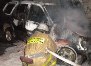 «Форд Фокус» выгорел дотла в гараже в центре Волгодонска
