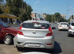 ДТП на вокзале. Водитель Hyundai  не уступил дорогу « восьмерке»