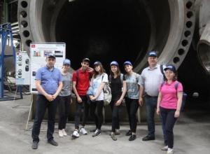 Волгодонский Атоммаш с экскурсией посетили студенты МГУ и СпбГУ