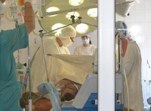 В БСМП Волгодонска поступил раненый в живот парень