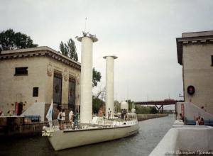 Календарь Волгодонска:  в город приплыла команда знаменитого исследователя океанов Жака Ива Кусто