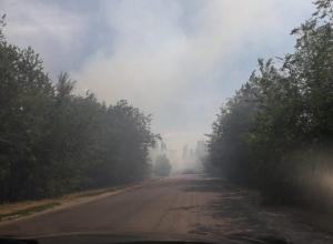 Жаркая погода и палящее солнце стали причиной возгорания сухой растительности в Волгодонском районе