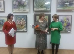 В Волгодонске открылась огромная выставка акварелей