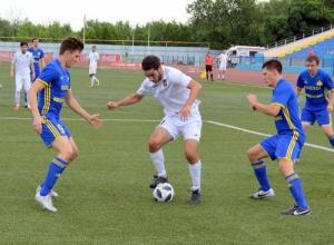 Не забив ни одного гола в ворота соперника ФК «Волгодонск» проиграл на выездной игре