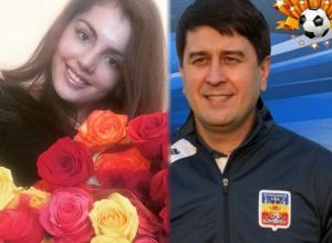 Тренер ФК «Волгодонск» и победительница первого конкурса «Мисс Блокнот» отмечают личный праздник