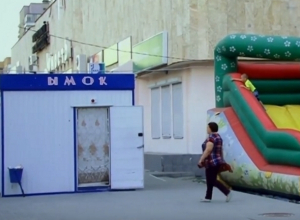 Ларёк «ЫМОК», стоящий на дороге, высмеяли жители Волгодонска
