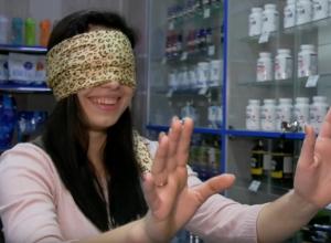 С закрытыми глазами Юлия Курочкина выбрала любимый протеин