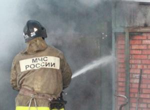 Волгодонец лишился гаража из-за пожара