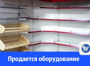 В Волгодонске продают торговую мебель