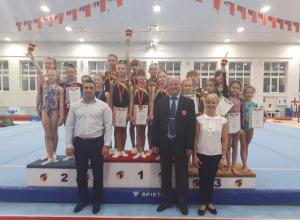 Спортивные гимнасты из Волгодонска «блеснули» на областном турнире