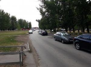 На Степной в районе школы Полиции хотят упорядочить парковку