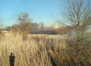 Сезон пожаров открыт: Огонь охватил ГСК-10 на Весенней