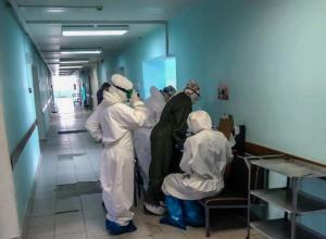 В реанимации госпиталя для больных Covid-19 находятся семь человек