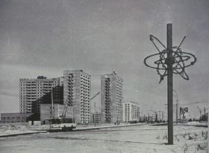 Волгодонск прежде и теперь: горотдел милиции на проспекте Строителей