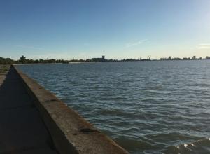 Уровень воды в Цимлянском водохранилище активными темпами продолжает снижаться