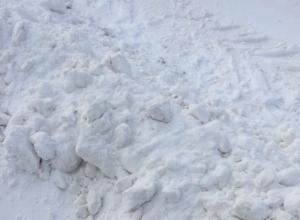 Возмущению нет предела, - волгодонцы об уборке снега