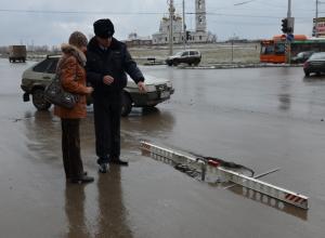 Метровые глубокие ямы на дорогах Волгодонска должны ликвидировать