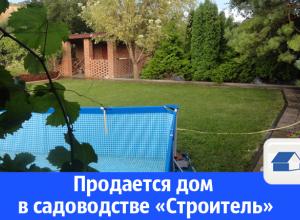 Продается жилой дом в садоводстве «Строитель»