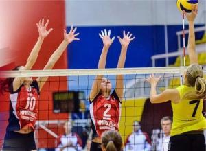 Спорткомплекс-тезка не помог сибирским волейболисткам одолеть волгодонский «Импульс»