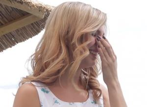 До слез довели финалистку проекта «Мисс Блокнот» воспоминания о предательстве в семье