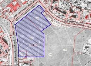 Территория будущего ТРЦ «Мармелад» может занять почти половину парка Молодежный
