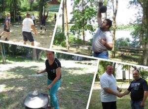 Спортивные соревнования и конкурс ухи провели полицейские Волгодонска