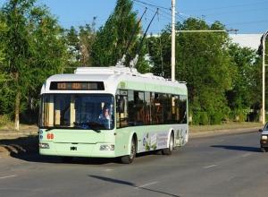 В Волгодонске пустят троллейбусы на улицы Индустриальную, Гагарина и Маршала Кошевого