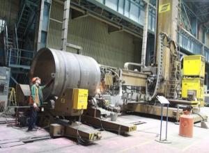 В Волгодонске приступили к производству сваи для нефтяной платформы на Каспии