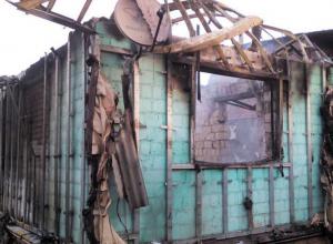 За несколько дней до Нового года молодой семье из Волгодонска сожгли дачный дом