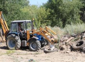 Год экологии прошел, но борьба со свалками и мусором в Волгодонске не закончилась