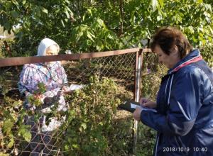 Пожарные Волгодонска, сотрудники ГО и ЧС и казаки провели рейды в садоводствах