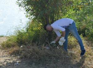 Полицейские против мусора: Сотрудники управления МВД «Волгодонское» приняли участие в эко-акции